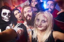 Selfie Taken At The Halloween ...
