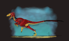 Deinonychus, A Genus Of Carniv...