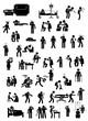 Piktogramme zum Thema Medizin und Gesundheit