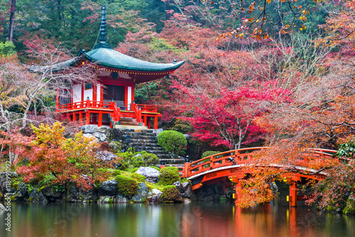 Foto op Canvas Japan Daigo-ji Temple in Autumn