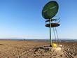 Puesto de socorrista en la playa de Riumar, Delta del Ebro