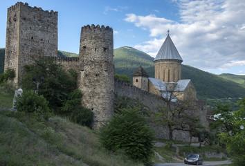 Fototapeta na wymiar The Ananuri Fortress, Georgia