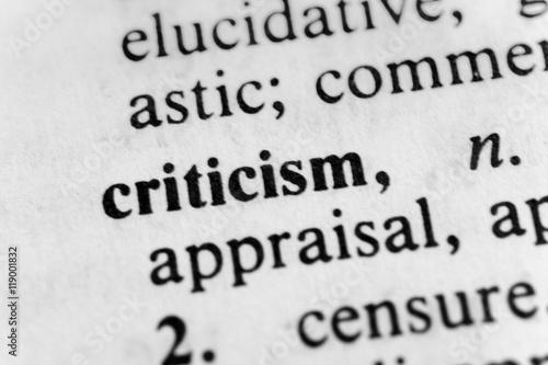 Fényképezés  Criticism