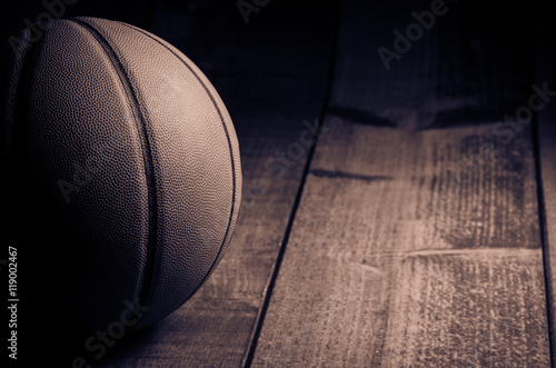 Photo  Vintage basketball