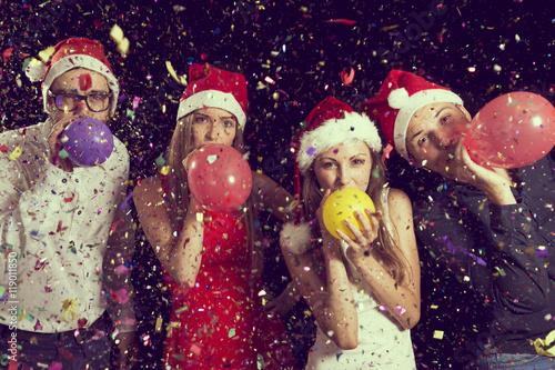 Spoed Fotobehang Carnaval Balloons