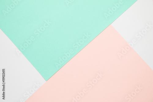 Obraz na plátně Colorful pastel paper background.