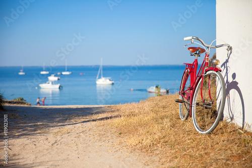 Deurstickers Strand Plage de Noirmoutier le matin