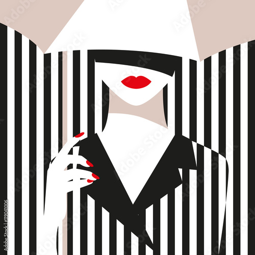 moda-dziewczyna-z-parasolem-odwazny-minimalny