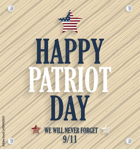 Patriot Day poster Poster