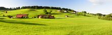 Panorama Landschaft In Bayern ...