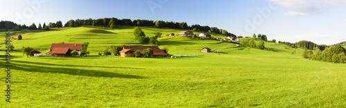 Foto Panorama Landschaft in Bayern im Allgäu