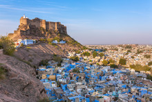Blue City And Mehrangarh Fort ...