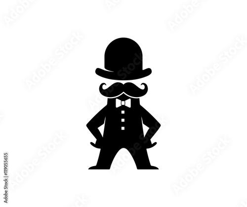 Gentleman Logo Buy This Stock Vector And Explore Similar Vectors At Adobe Stock Adobe Stock