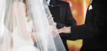 Wedding Ring Exchange Horizontal Banner