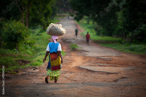 Spoed Fotobehang Afrika Sierra Leone, West Africa, the beaches of Yongoro