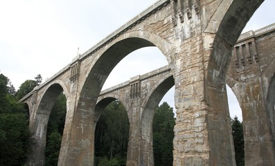 Obraz na Szkle Stanczyki bridges, Poland