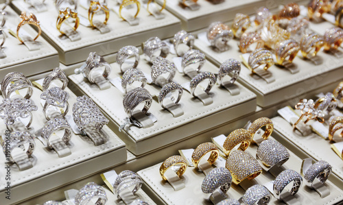 Gold market in Dubai, Deira Gold Souq - Buy this stock photo and