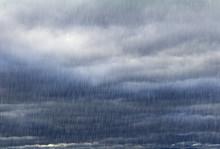 Rainy Sky With Dark Clouds