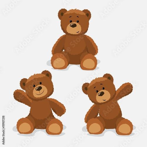 Carta da parati Teddy Bears