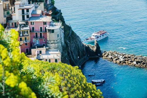 Fotobehang Liguria Cinque Terre National Park, Liguria Italy.
