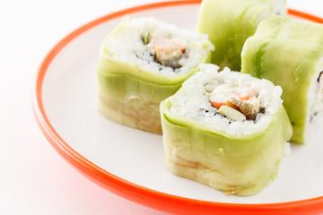 Obraz na Szkle tasty sushi