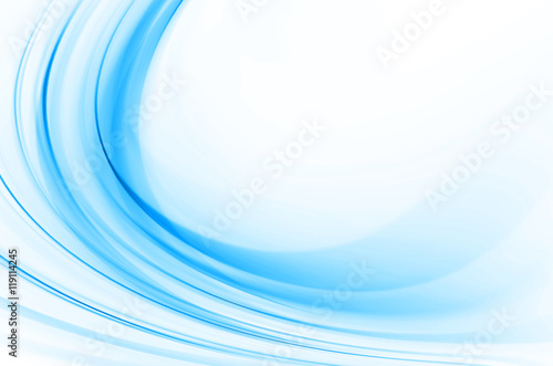 Fotografie, Obraz  Blue abstract background