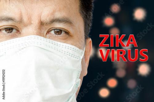 Zika Virus Wallpaper Mural