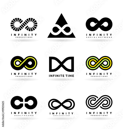 Set Of Various Infinity Symbols And Logo Design Elements 2 Buy