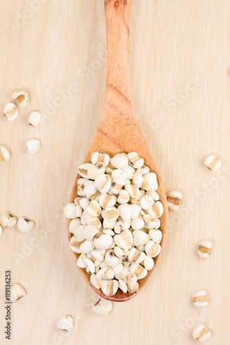 Fotografie, Obraz  Jab tear on the spoon