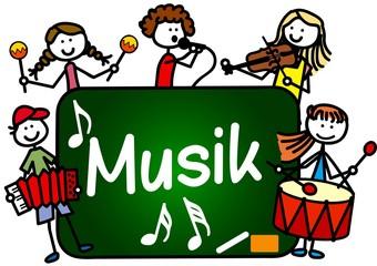 Fototapeta Musik