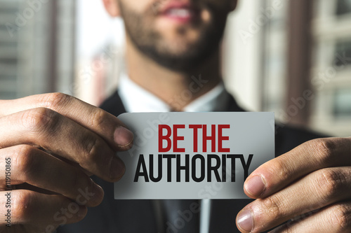 Photo Be the Authority