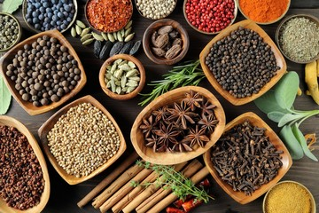 Fototapeta Przyprawy Aromatic spices.