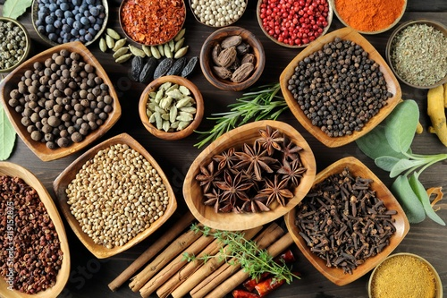 Aromatic spices. - 119152825