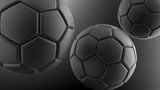 Soccer ball. 3D illustration. 3D CG. High resolution. - 119154639
