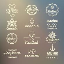 Vintage Marine, Nautical, Navy...