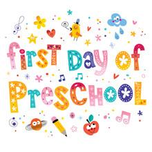 First Day Of Preschool Unique ...