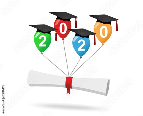 Graduation Party 2020.Graduation Party 2020 Buy This Stock Illustration And