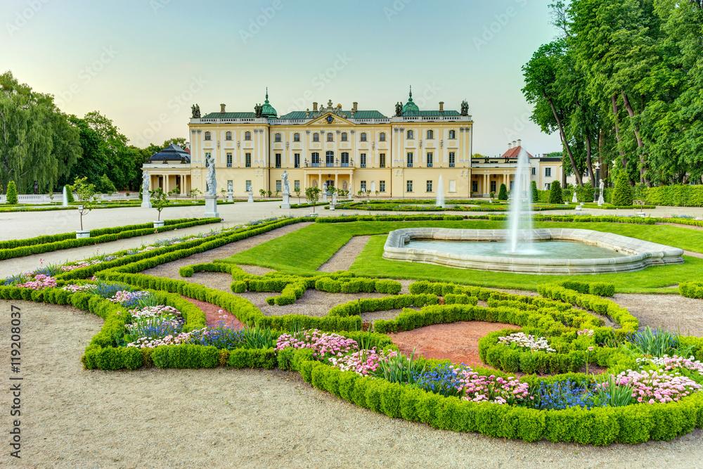 Fototapety, obrazy: Ogród w Pałacu Branickich Białystok Polska