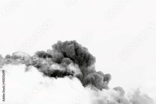 Garden Poster Smoke smoke cloud explosion