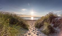 Spuren Im Sand