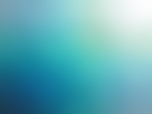 Abstract Gradient Turquoise Bl...