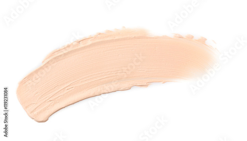 Pinturas sobre lienzo  Cosmetic cream, isolated on white