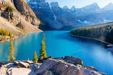 Moraine Lake, Lake Louise, Banff National Park, Alberta, Canada