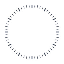 Blank Clock Face, Just Set You...