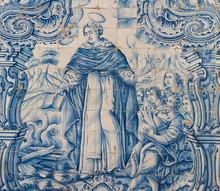 Azulejo Of Saint Dominic In Th...