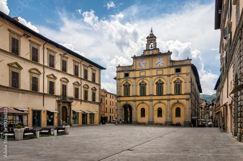Citta di Castello (Umbria) Piazza Matteotti