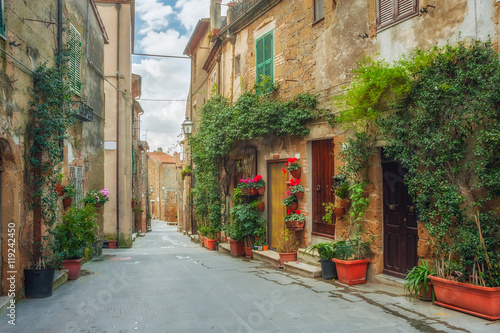 Fototapety, obrazy: Streets in Ancient Town