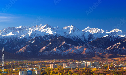 Montagne Autumn in Almaty