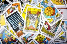 Tarot Cards Mystical Old  Back...