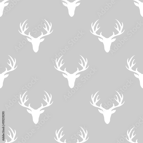pattern with deer